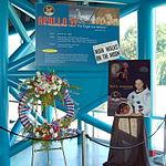Neil Armstrong Memorial Wreath KSC September 2012.jpg