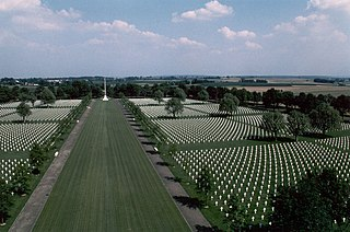 American military cemetery in the Netherlands