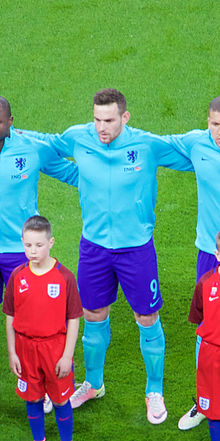 Netherlands starting XI (26047000842) Vincent Janssen.jpg