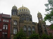 New Synagogue, East Berlin