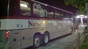 Trailways of New York - New York Trailways bus