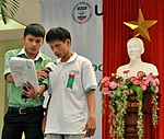 New class of students starts at Dong A Univeristiy with support from USAID and CRS (8240543613).jpg