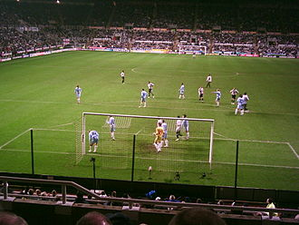 S.V. Zulte Waregem - Zulte Waregem playing Newcastle United in a UEFA Cup tie.