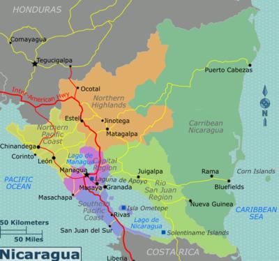 Liberia To Nicaragua Tour
