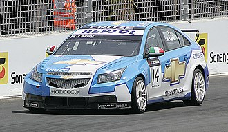 General Motors - Chevrolet Cruze in the WTCC