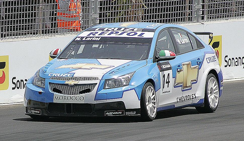 Nicola Larini 2009 WTCC Marrakech