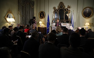 Brexit - First Minister of Scotland Nicola Sturgeon addresses journalists over Brexit and Scotland's place within Europe at Bute House.