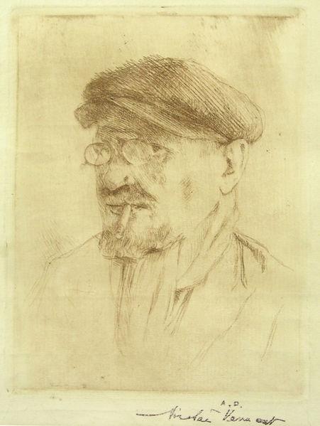 Fișier:Nicolae Vermont - Autoportret cu sapca.jpg