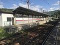Nikenchaya station Kurama bound platform 20200523 01.jpg
