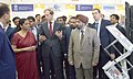 Nirmala Sitharaman and the Minister of Industry and Trade of the Russian Federation, Mr. Denis Manturov visiting the exhibition at the International Engineering Sourcing Show -IESS VI.jpg