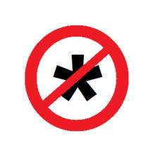 no assholes allowed