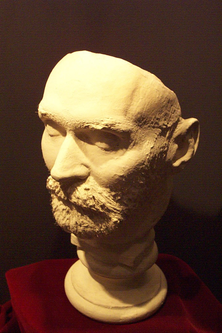 Nobel's death mask