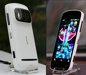 Nokia 808 PureView front and back view.JPG