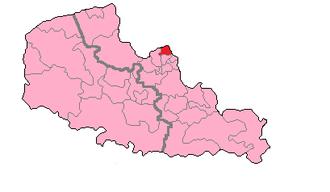 Nord's 10th constituency - Nord's 10th Constituency shown within Nord-Pas-de-Calais