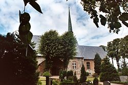 Norderbrarup, the Mary´s Church and the churchyard.jpg