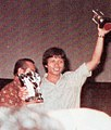 Norman Benny receiving Citra for Best Editing, Festival Film Indonesia (1982), 1983, p63.jpg