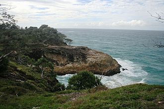 Moreton Bay Marine Park - The coastline at Point Lookout is zoned as a conservation park