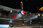 North American F-82B Twin Mustang, National Museum of the US Air Force, Dayton, Ohio, USA. (32562452388).jpg