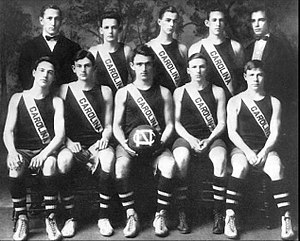 Nathaniel Cartmell - Coach Nathaniel Cartmell and the 1910–11 men's basketball team