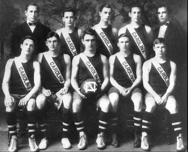 North Carolina Tar Heels Men's Basketball 1911