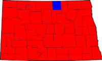 North Dakota Gubernatorial Election Results by county, 2008.png