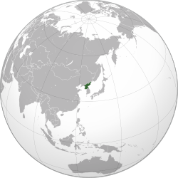 North Korea (orthographic projection).svg