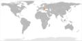 North Korea Romania Locator.png