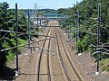 Northeast Corridor facing west from Elm Street, Stonington, CT.JPG