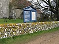 Notice board at St Michael's Church - geograph.org.uk - 1767905.jpg