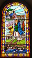 Notre Dame de Placemanec à Groix - Vitrail de Saint Gunthiern.JPG
