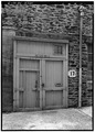 November 1971. SHOP ENTRANCE. - Keyser Brothers Iron Works, 4041 Ridge Avenue, Philadelphia, Philadelphia County, PA HAER PA,51-GERM,192-3.tif