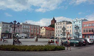 Nowe Place in Kuyavian-Pomeranian Voivodeship, Poland
