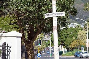 Marikana killings - Image: Ntandazo Nokamba Street