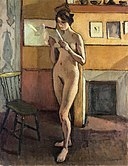 Nude by the Fireplace Albert Marquet (1913).jpg