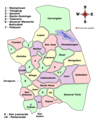 Nueva Ecija Labelled Map.png