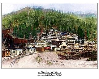 Nuriva, West Virginia Unincorporated community in West Virginia, United States