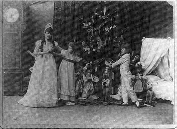 Original cast of the Nutcracker in 1892