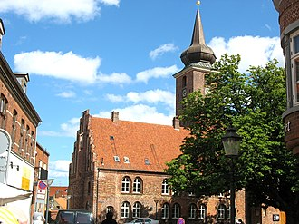 Nykøbing Falster - The old abbey church (Klosterkirken).