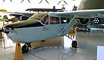 O-2A Skymaster, military version of Cessna 337 Super Skymaster - Evergreen Aviation & Space Museum - McMinnville, Oregon - DSC00745.jpg
