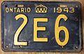 ONTARIO 1943 -LICENSE PLATE SHORTY -VIP - Flickr - woody1778a.jpg