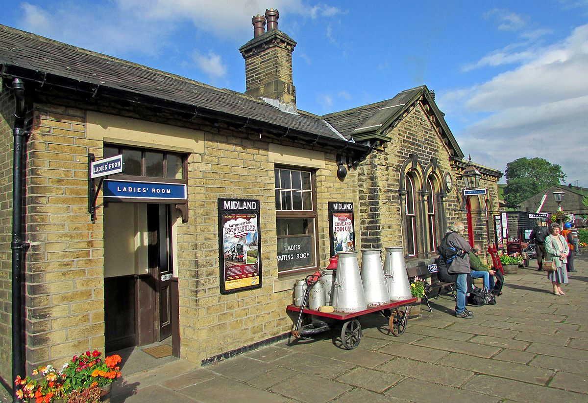 Oakworth Railway Station Wikipedia