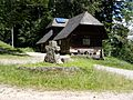 Oberharmersbach, Kreuzsattelkopf, Hütte 2.jpg