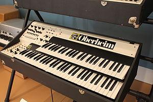 Oberheim polyphonic - Image: Oberheim Dual Manual 8Voice keyboard