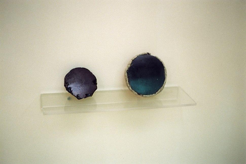 Obsidian mirrors, Çatalhöyük, 6000-5500 BC, MACA, 99034