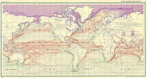 Oceanic surface currents (U.S. Army, 1943). Ocean currents 1943.jpg