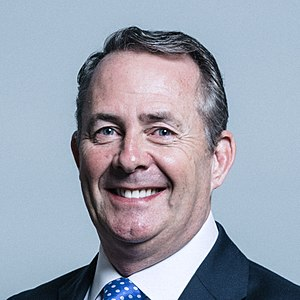 Department for International Trade - Image: Official portrait of Dr Liam Fox crop 3