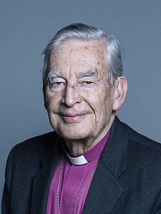Richard Harries, Baron Harries of Pentregarth - Harries' official parliamentary photo