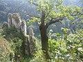"""Ojców - skały """"rękawica"""" - panoramio.jpg"""