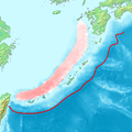 Okinawa trench and Okinawa trough topographic.png