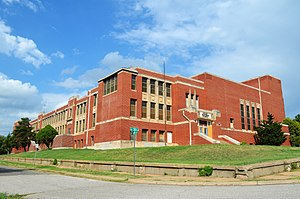 Jimmy Rushing - Image: Oklahoma City OK Old Douglass High School (Taken 20120926)
